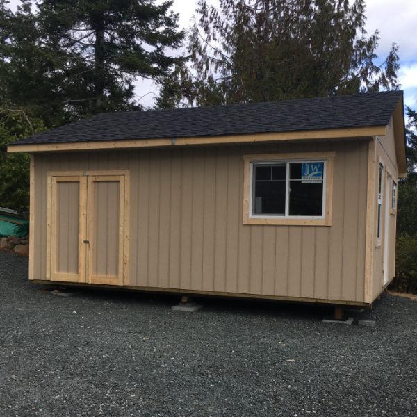 14ft x 12ft Bunk House with 7ft sidewall, storage